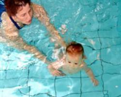 Раннее обучение детей плаванию